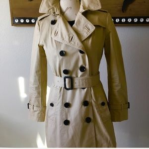 Authentic Burberry Brit Trench Coat